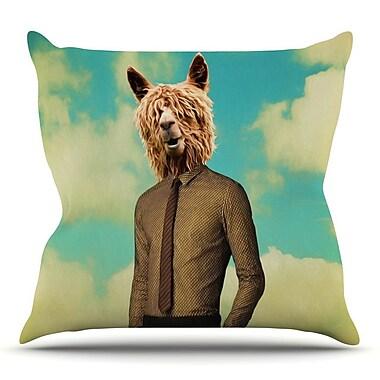 KESS InHouse Passenger 11A by Natt Throw Pillow; 16'' H x 16'' W x 3'' D