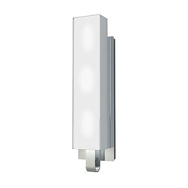 Kendal Lighting Larissa 3-Light Bath Bar; Chrome