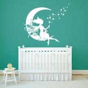 SissyLittle Moon Fairy Wall Decal