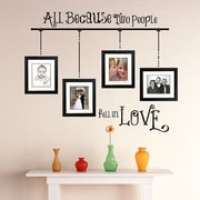 SissyLittle All Because Wall Decal