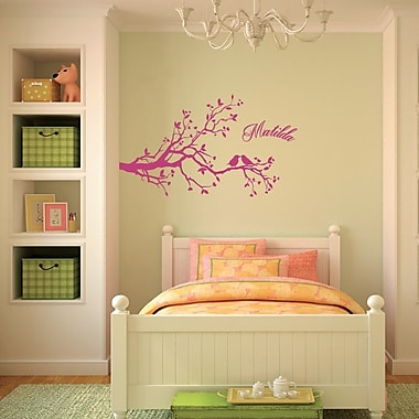 SissyLittle Lovely Birdy Branch Wall Decal
