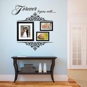 SissyLittle Forever Begins Wall Decal