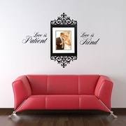 SissyLittle Love is Patient Wall Decal