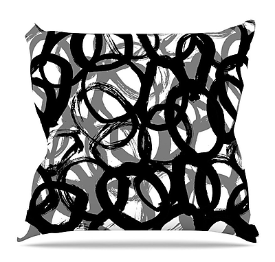 KESS InHouse Rhythm by Emine Ortega Throw Pillow; 26'' H x 26'' W x 5'' D