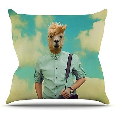 KESS InHouse Passenger 1B by Natt Throw Pillow; 26'' H x 26'' W x 5'' D