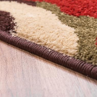 Well Woven Sydney Pop In And Out Circles Brown Area Rug; Runner 2'3'' x 7'3''