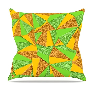 KESS InHouse This Side by Danny Ivan Throw Pillow; 26'' H x 26'' W x 5'' D