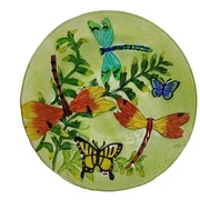 Continental Art Center Butterfly/Dragonfly Plate