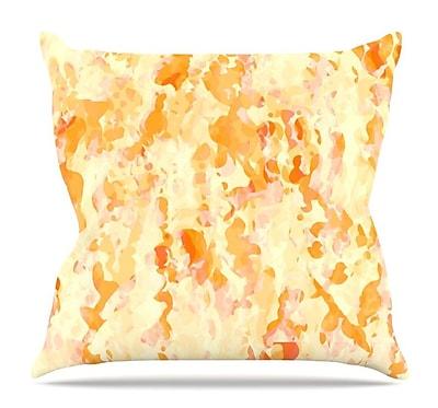 KESS InHouse Explosion by CarolLynn Tice Throw Pillow; 16'' H x 16'' W x 3'' D