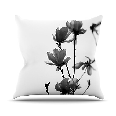 KESS InHouse Mulan Magnolia Throw Pillow; 18'' H x 18'' W