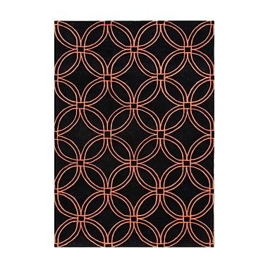 Alliyah Rugs New Zealand Handmade Black Area Rug