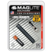 "Mini Maglite LED Flashlight, 3 3/16""L x 1/2"" Head Dia x 1/2"" Barrel Dia (SJ3A016)"