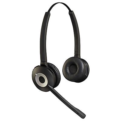 Jabra 920-69-508-105 PRO™ 900 Series Duo Wireless Headset, Over-the-Head, Black
