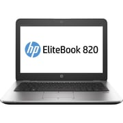 "HP® EliteBook 820 G3 12.5"" Notebook PC, LCD, Intel Core i5-6200U, 128GB, 8GB, Windows 10 Pro, Silver"