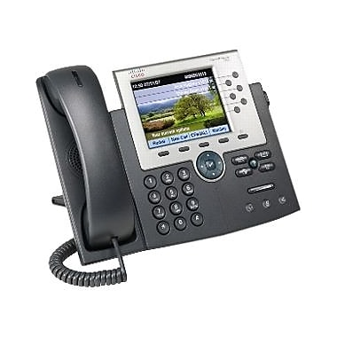 Cisco™ CP 7965G RF 6 Line Corded Unified IP Phone, Office