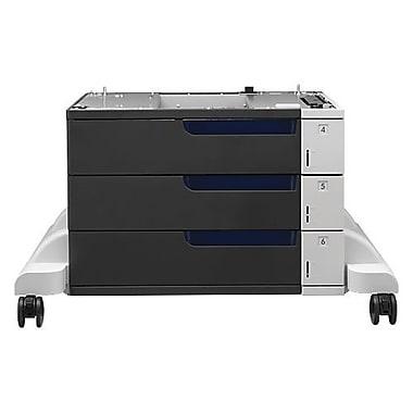 HP – Chargeur de papier et support LaserJet couleur de 3 x 500 feuilles, 1500 feuilles (C1N63A)