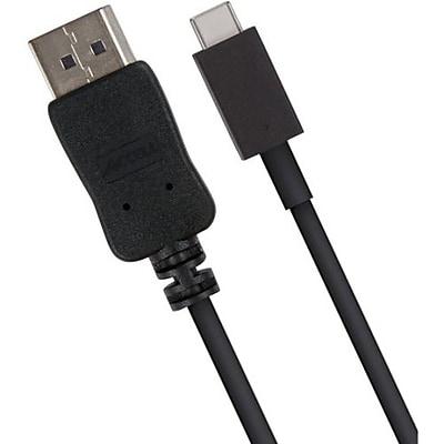 Accell U188B-006B USB-C to DisplayPort Cable, Black
