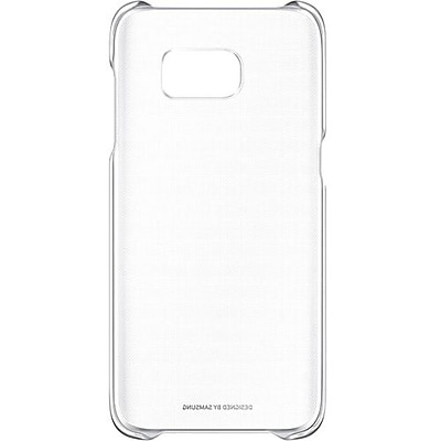 Samsung EF-QG935CSEGUS Plastic Protective Cover for Galaxy S7 edge, Clear Silver