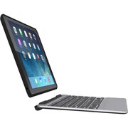 Zagg® IM2ZF2-BB0 Slim Book Keyboard and Detachable Case for Apple iPad mini/2/3, Black