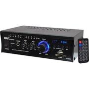 Pyle Mini Stereo Power Amplifier, 240 W, 110 V/220 V (PCAU46A)