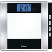 CONAIR-PERSONAL CARE WW52Y Weight Watchers® Analysis Scale, Glass Body, 400 lb