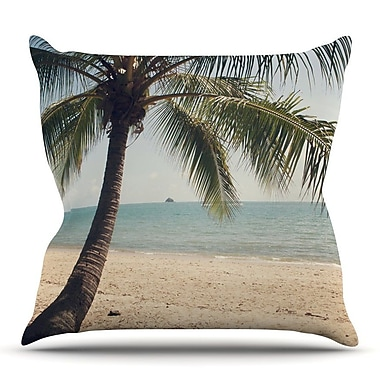 KESS InHouse Tropic of Capricorn by Catherine McDonald Throw Pillow; 18'' H x 18'' W x 3'' D