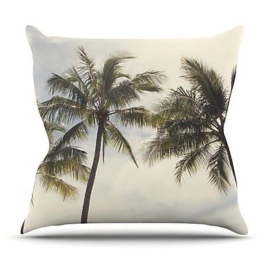 KESS InHouse Boho Palms by Catherine McDonald Throw Pillow; 16'' H x 16'' W x 3'' D