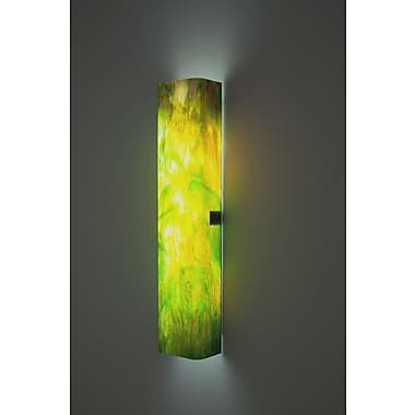 WPT Design Channel 2-Light Standard Wall Sconce; Snow
