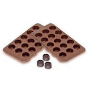 GGI International Sorbus Round Silicone Mold for Chocolate and Jelly Candy
