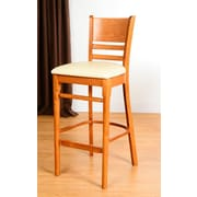 Benkel Seating Bedford 30'' Bar Stool; Cherry