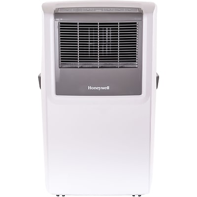 Honeywell 10;000 BTU Portable Air Conditioner with Front Grille and Remote Control - White/Gray (MP10CESWW)