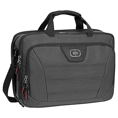 OGIO Renegade Top-Zip Backpack, Black Pindot, (117047.317)