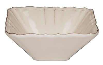 Red Vanilla Countryside Salad & Vegetable Bowl (Set of 2); Cream