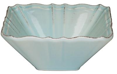 Red Vanilla Countryside Salad & Vegetable Bowl (Set of 2); Whisper Blue