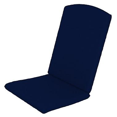 Trex Solid Outdoor Sunbrella Rocking Chair Cushion; Navy