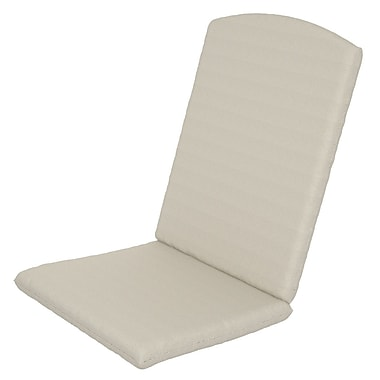 Trex Solid Outdoor Sunbrella Rocking Chair Cushion; Bird's Eye