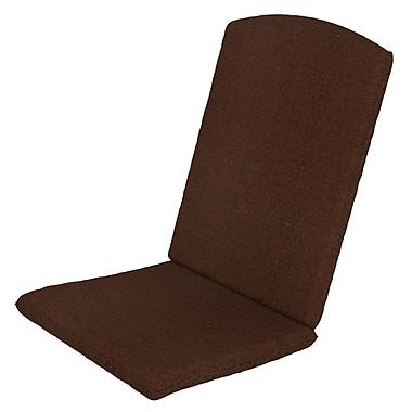 Trex Solid Outdoor Sunbrella Rocking Chair Cushion; Chili