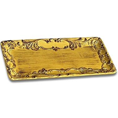 Intrada Baroque Large Rectangular Platter; Honey