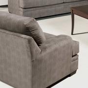 Serta Upholstery Armchair; Olympian Platinum