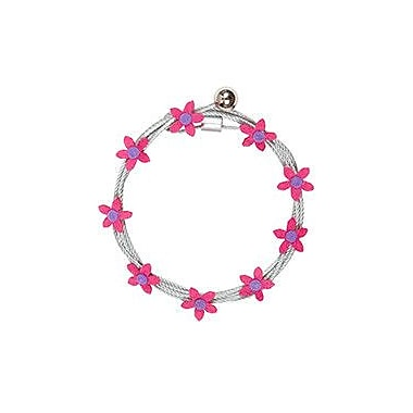 Mishu Designs Magnet Photo Cable Picture Frame; Pink Hippie