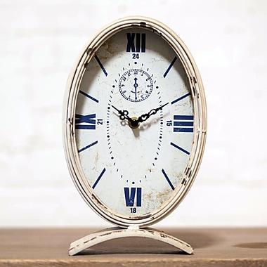 VIP INTERNATIONAL Metal Table Clock