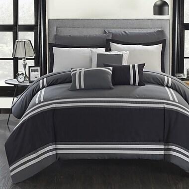 Chic Home Zarah 10 Piece Comforter Set; Queen
