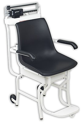 Detecto Mechanical Chair Scale; 400 lb x 4 oz