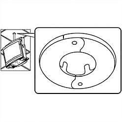 Peerless-AV Peerless TV and Projector Ceiling Mounts and Parts Escutcheon Ring; White