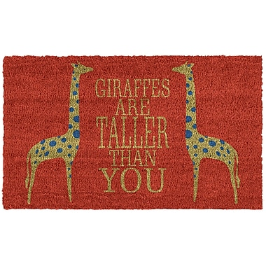 Home & More Giraffes Doormat