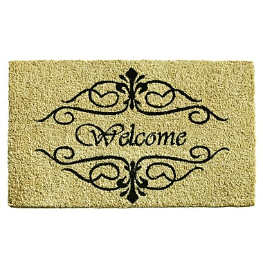 Home & More Classic Welcome Doormat; Rectangle 1'5'' x 2'5''
