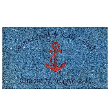 Home & More Anchor Doormat; Rectangle 1'5'' x 2'5''