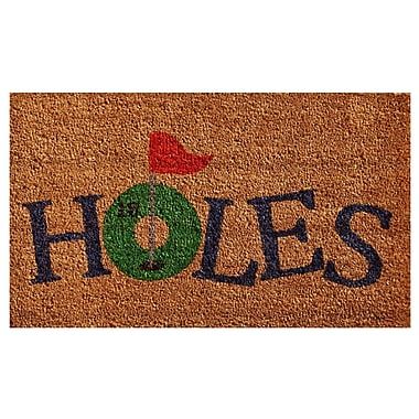 Home & More 18 Holes Doormat; Rectangle 2' x 3'