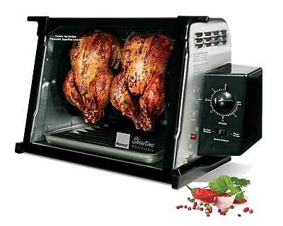 Ronco 4000 Series Rotisserie Oven; Stainless Steel WYF078277089363