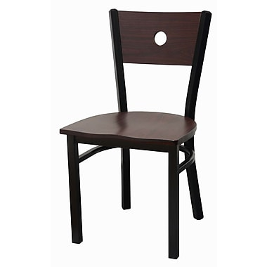 DHC Furniture Side Chair; Mahogany